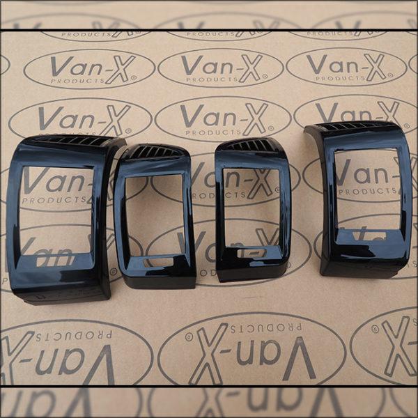 Dashboard Air Vent (BLACK) for Fiat Ducato, Peugeot Boxer & Citroen Relay-7108
