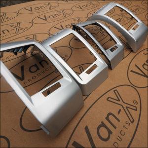 Dashboard Air Vent (SILVER) for Fiat Ducato, Peugeot Boxer & Citroen Relay-7102
