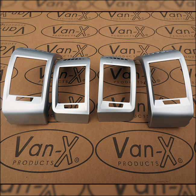 Van-X | Dashboard Air Vent (SILVER) for Fiat Ducato