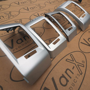 Dashboard Air Vent (SILVER) for Fiat Ducato, Peugeot Boxer & Citroen Relay-20038