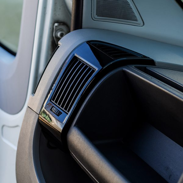Dashboard Air Vent (BLACK) for Fiat Ducato, Peugeot Boxer & Citroen Relay-0
