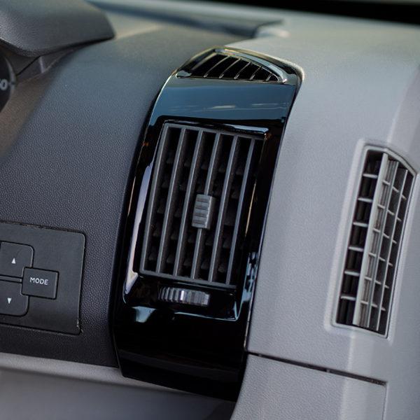 Dashboard Air Vent (BLACK) for Fiat Ducato, Peugeot Boxer & Citroen Relay-20049