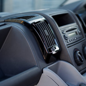 Dashboard Air Vent (BLACK) for Fiat Ducato, Peugeot Boxer & Citroen Relay-20048