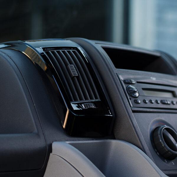Dashboard Air Vent (BLACK) for Fiat Ducato, Peugeot Boxer & Citroen Relay-20050