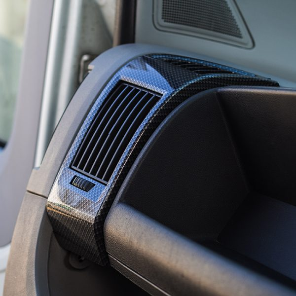 Dashboard Air Vent (DARK CARBON) for Fiat Ducato, Peugeot Boxer & Citroen Relay-0