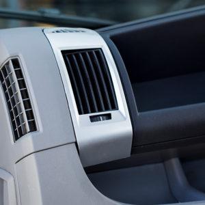 Dashboard Air Vent (SILVER) for Fiat Ducato, Peugeot Boxer & Citroen Relay-20042