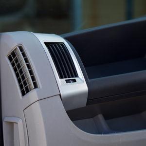 Dashboard Air Vent (SILVER) for Fiat Ducato, Peugeot Boxer & Citroen Relay-20043