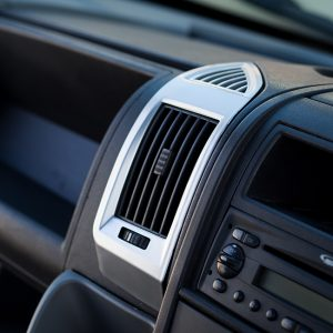 Dashboard Air Vent (SILVER) for Fiat Ducato, Peugeot Boxer & Citroen Relay-0