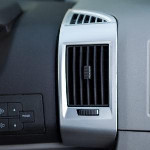 Dashboard Air Vent (SILVER) for Fiat Ducato, Peugeot Boxer & Citroen Relay-20045