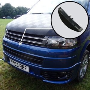 SILVER CARBON Badgeless Grille for Volkswagen T5.1 *CLEARANCE* [B Grade] -0