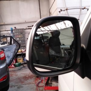 Heated LED Mirror Lens for VW T6 Transporter-7212