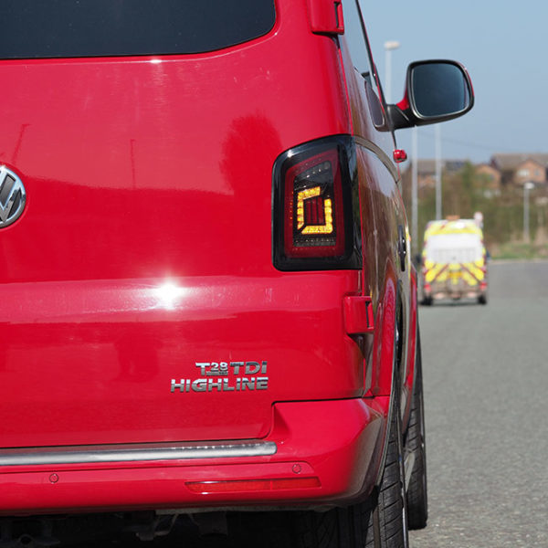 VW T6 Barndoor dynamic LED Lights MK3-9043