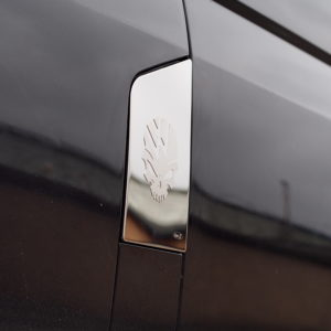 Skull Fuel Cap Flap Cover for VW T5 Transporter-7347
