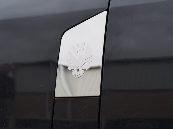 Skull Fuel Cap Flap Cover for VW T5 Transporter-7343