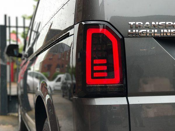 VW T6 Tailgate LED Dynamic Rear Lights-0