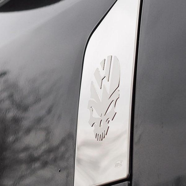 Skull Fuel Cap Flap Cover for VW T6 Transporter-20099