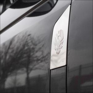 Skull Fuel Cap Flap Cover for VW T6 Transporter-7349