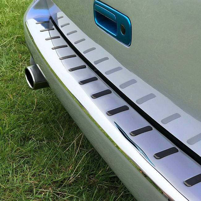 VW T5 T5.1 Rear Bumper Protector Stainless Steel