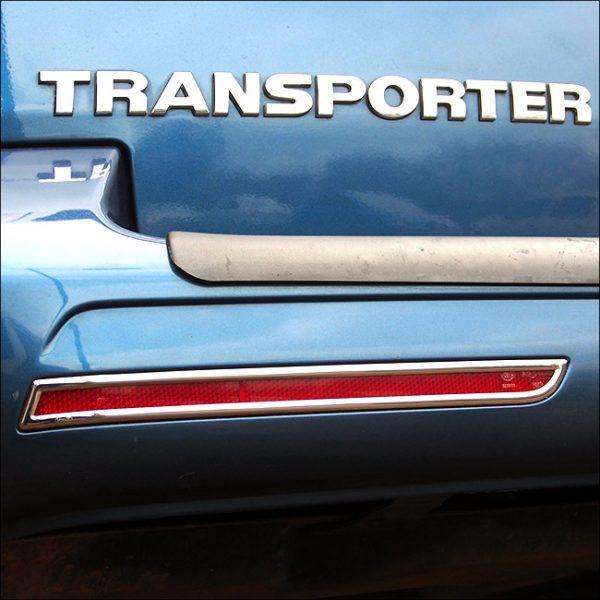 Barndoor Rear Bumper Reflector Trims For VW T6 Transporter-8062
