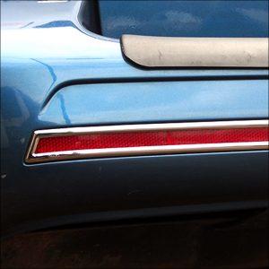 Barndoor Rear Bumper Reflector Trims For VW T6 Transporter-8063