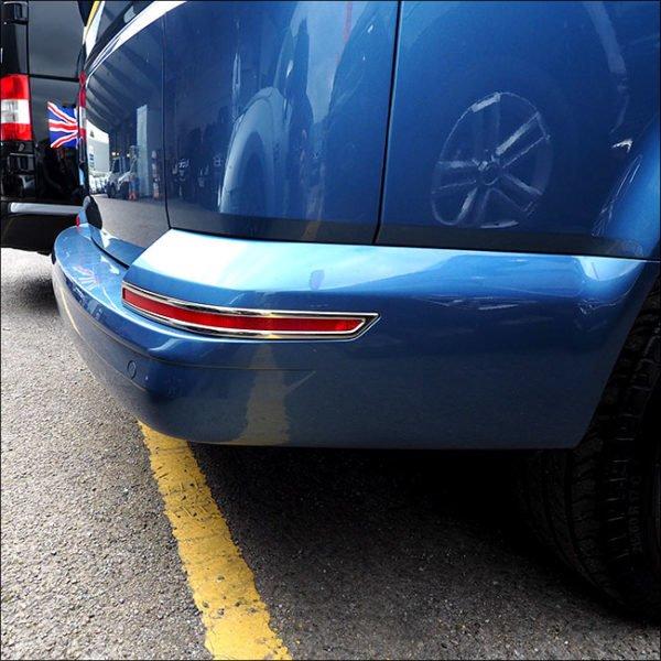 Tailgate Bumper Reflector Trims For VW T6 Transporter-7599