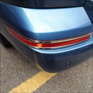 Tailgate Bumper Reflector Trims For VW T6 Transporter-7600