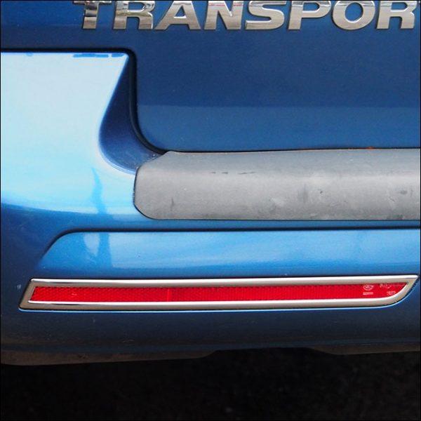 Barndoor Rear Bumper Reflector Trims For VW T6 Transporter-7689