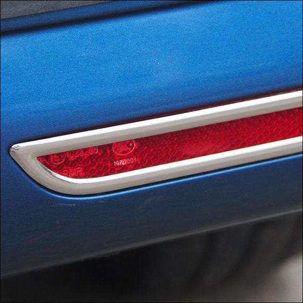 Barndoor Rear Bumper Reflector Trims For VW T6 Transporter-7686