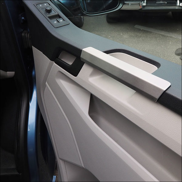 Grab Handle Covers for VW T6 Transporter Stainless Steel-7608