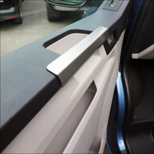 Grab Handle Covers for VW T6 Transporter Stainless Steel-7611
