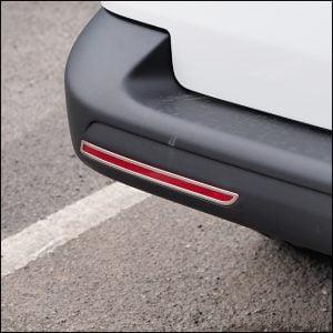 Barndoor Rear Bumper Reflector Trims For VW T6 Transporter-7688