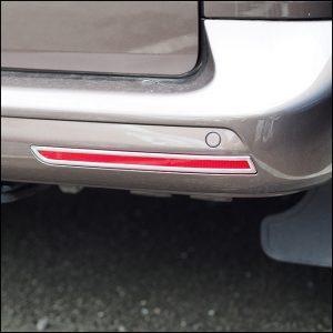 Barndoor Rear Bumper Reflector Trims For VW T6 Transporter-7687