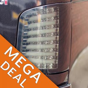 LED Rear Lights for VW T5 Transporter BARN DOOR MK1-0