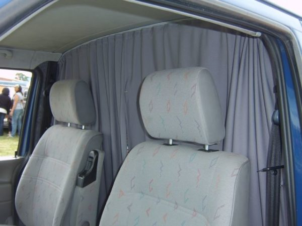 Cab Divider Curtain Kit for Mercedes Sprinter-7857