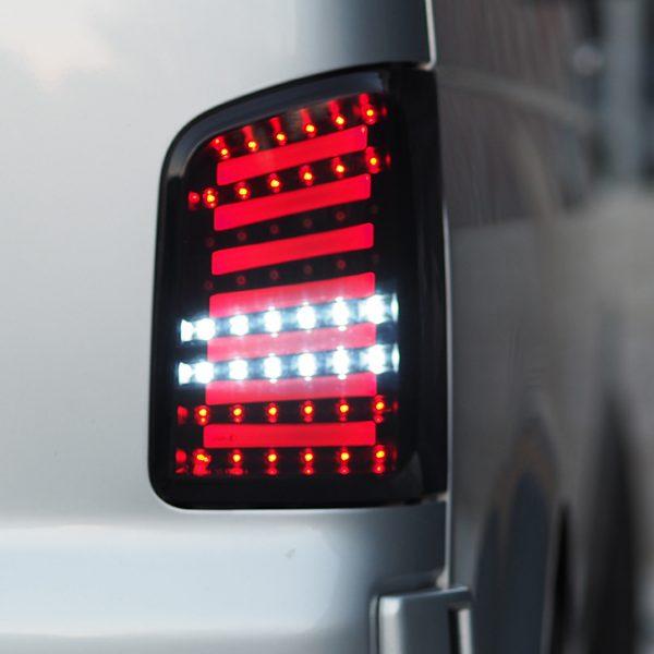 LED Rear Lights MK2 for VW T5 T5.1 T5GP Transporter BARNDOOR -20212