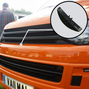MATTE BLACK Badgeless Grille for Volkswagen T5.1 *CLEARANCE* [B Grade] -0