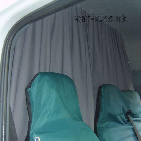 Maxi-Cab Divider Curtain Kit for Peugeot Boxer-0