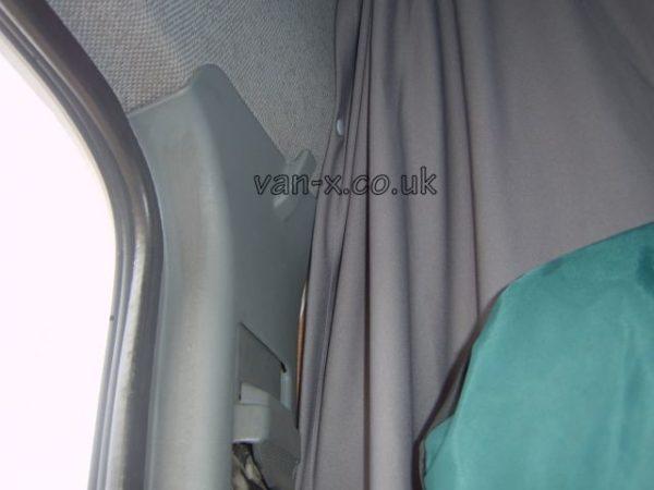 Maxi-Cab Divider Curtain Kit for Peugeot Boxer-7853