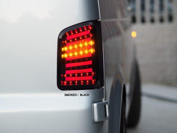 LED Rear Lights MK2 for VW T5 T5.1 T5GP Transporter BARNDOOR -8337