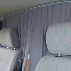 Cab Divider Curtain Kit for Mercedes Sprinter-20142