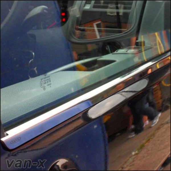 Window Sill Covers for VW T6 Transporter Range Stainless Steel -8134