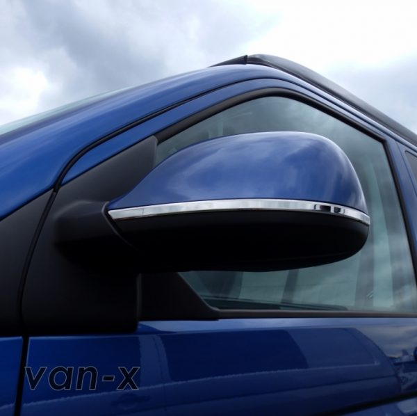 Mirror Trims Stainless Steel for VW T6-8190