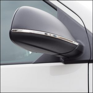 Mirror Trims Stainless Steel for VW T6-8194