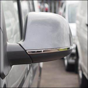Mirror Trims Stainless Steel for VW T6-8192