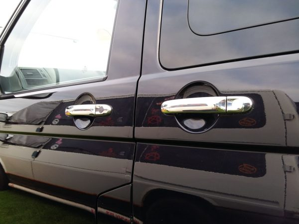 Door Handle Covers for VW T6 Transporter Stainless Steel-7992