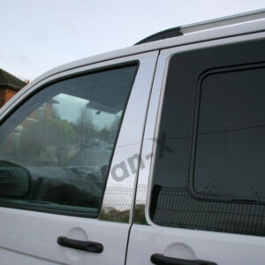 Door Pillar Trims for VW T6 Transporter Stainless Steel -0