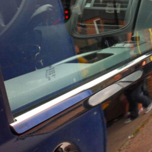 Window Sill Covers for VW T6 Transporter Range Stainless Steel -0