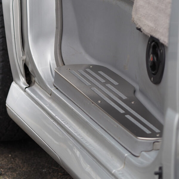 Step Protectors (3 Pcs) for Mazda Bongo, Ford Freda and Ford Friendee Stainless Steel -0