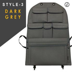 Back Seat Organiser for VW T6 Transporter-8656