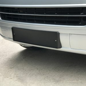 FRONT NUMBER PLATE TRIM FOR VW T5.1 T5GP T5 FACELIFT-0